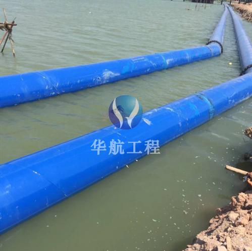水下铺设安装管道