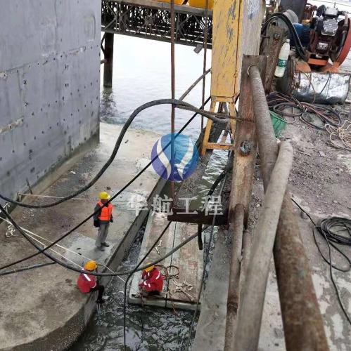 取水管道水下安装