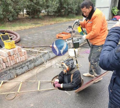 污水管道潜水封堵